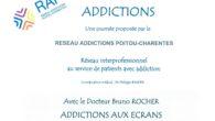 Mardi 29 octobre, le Réseau Addictions Poitou-Charentes (RAP) organise une journée de travail et de réflexion sur les addictions aux écrans, en compagnie du Dr Bruno Rocher, médecin responsable de […]