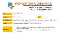 La Fédération de la Vienne propose un webinaire-formation en ligne sur le thème de «l' animation participative et les outils numériques ». Il aura lieu lundi 15 juin de 14 […]